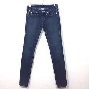 True Religion Skinny Jeans Dark Wash Size 28